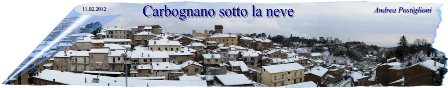 carbognano neve