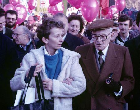 Marcia per la pace Roma 1985