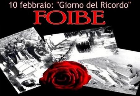 10 febbraio-Foibe