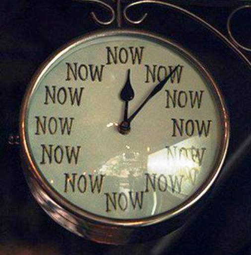 questa è l'ora giusta per...
